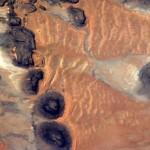 Mauritania as seen from ISS