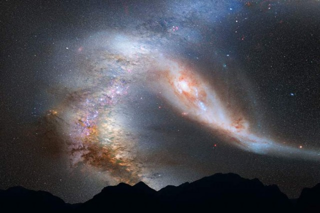 Milky Way, Andromeda Galaxy heading for collision