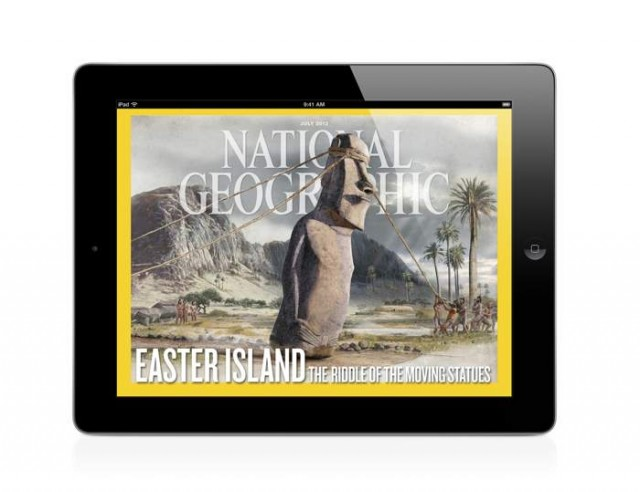ipad edition Mount Erebus, Antarctica