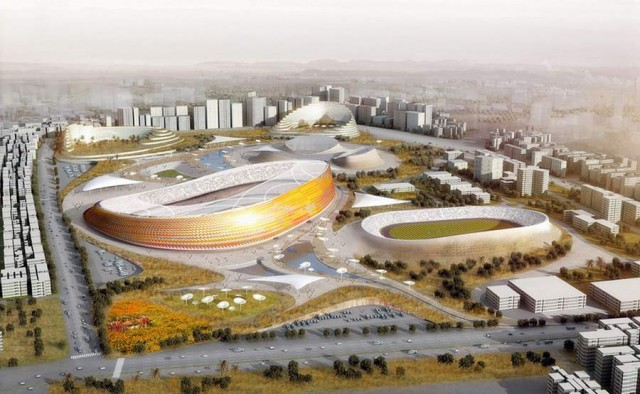 National Stadium in Addis Ababa by LAVA (7)