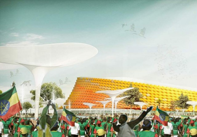 National Stadium in Addis Ababa by LAVA (6)