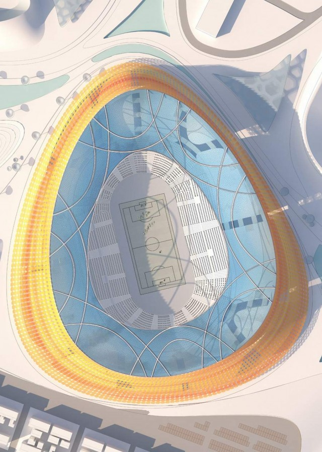 National Stadium in Addis Ababa by LAVA (2)