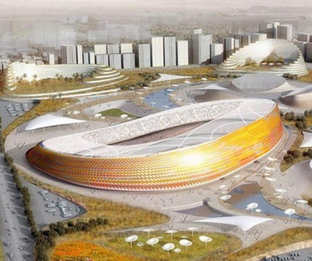 National Stadium in Addis Ababa by LAVA