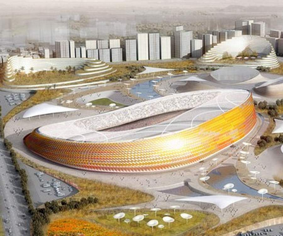 National Stadium in Addis Ababa by LAVA (8)