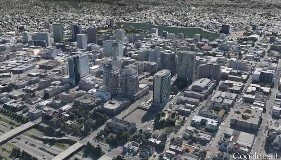 New 3D imagery for Google Earth
