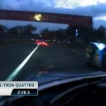Night lap at Le Mans in an Audi R18 e-tron