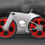 Porsche bicycle concept