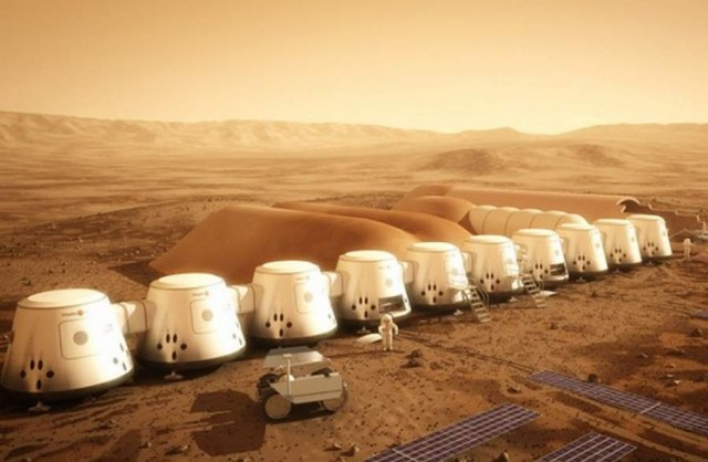 Reality Show the first human colony on Mars