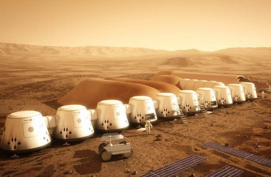 Reality Show the first human colony on Mars (4)