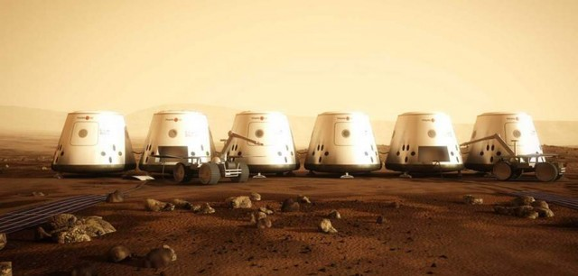 Reality Show the first human colony on Mars (3)
