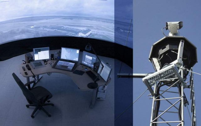 Remote Control Tower by Saab