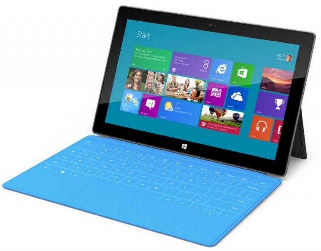 Surface tablet by Microsoft