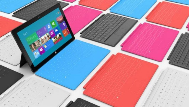 Surface tablet by Microsoft (1)
