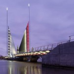Twin Sails Bridge by Speirs + Major and Wilkinson Eyre