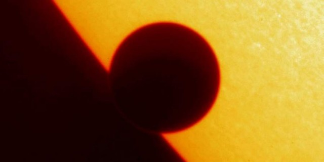 Venus transit of the Sun