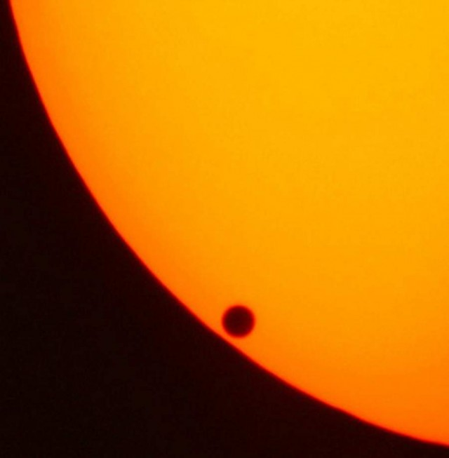 Venus Τransit of the Sun