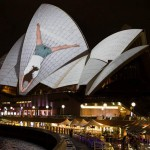Vivid Sydney at Opera House (video)