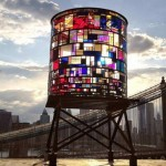 Watertower Illuminates the Brooklyn Skyline
