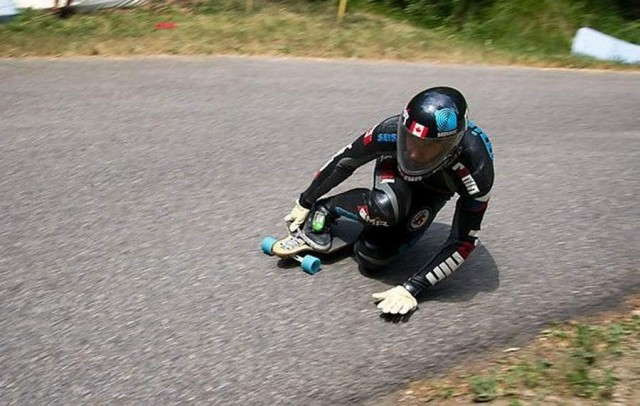 Mischo Erban, World Record Downhill Skateboard Run