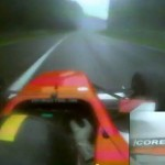 Amazing reaction by 19-year-old F2 racer