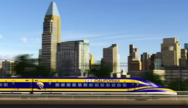 America's first High-Speed Train approved (1)
