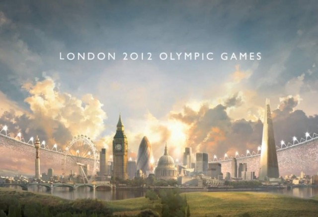 BBC's animated Olympic promo video