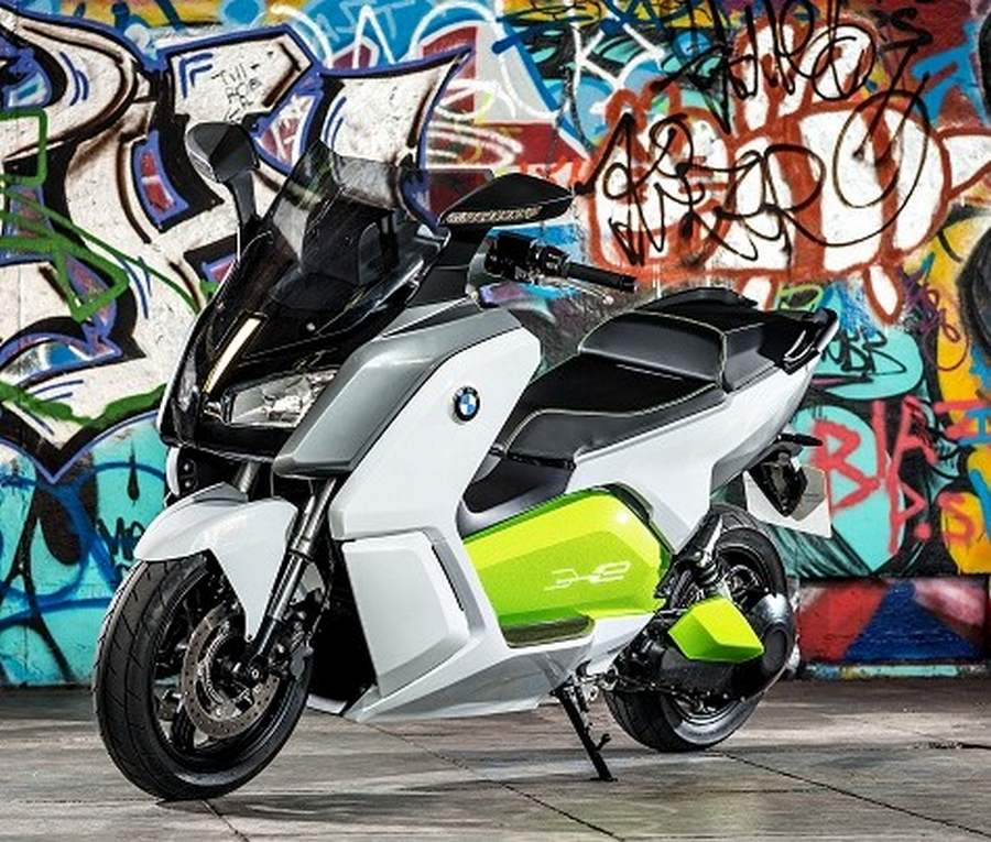 BMW C Evolution electric scooter (5)