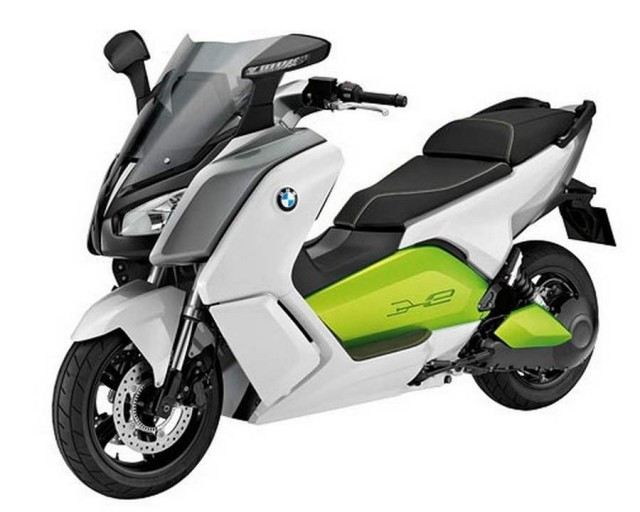 BMW C Evolution electric scooter (2)