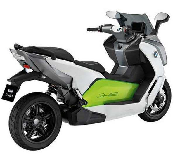BMW C Evolution electric scooter (1)