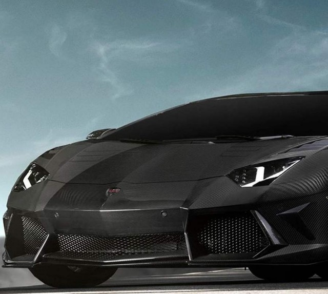 "Aventador LP700-4 Carbonado ""Black Diamond"" by Mansory , a model ..."