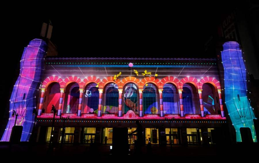 Duality video mapping project by Moment Factory (6)