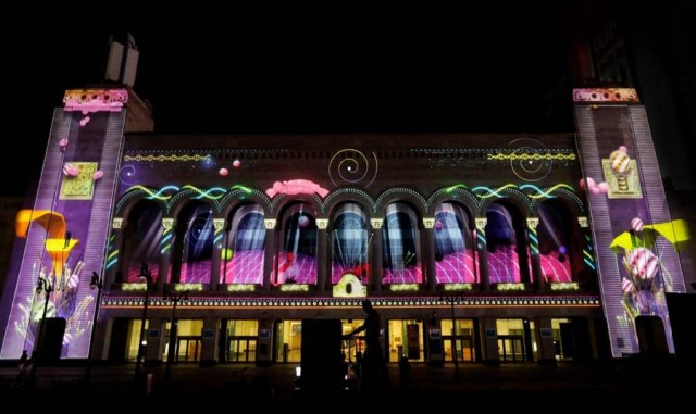 Duality video mapping project by Moment Factory (1)