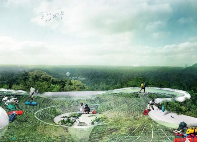 Explorative Canopy Trail wins the 2012 Foster - Partners Prize
