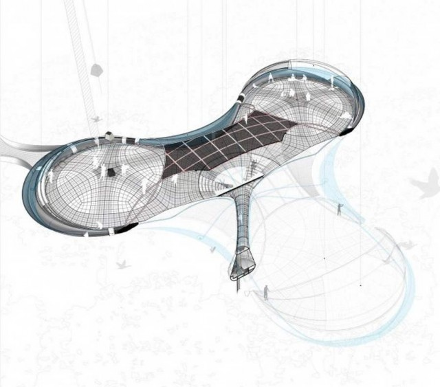 Explorative Canopy Trail wins the 2012 Foster - Partners Prize (1)
