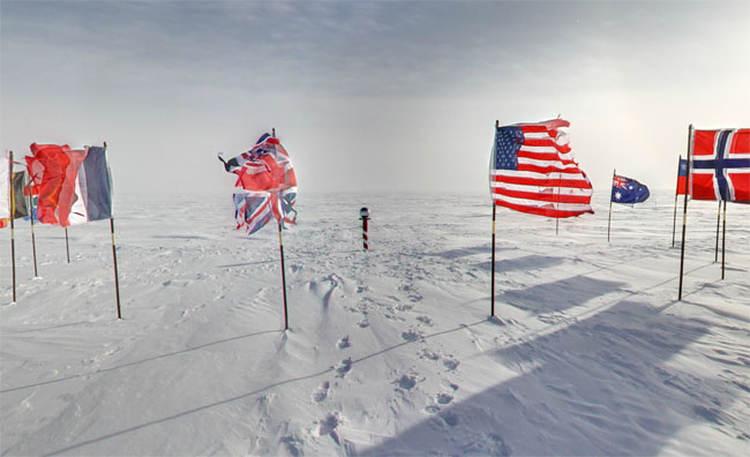 Google Maps- 360 degree views of Antarctica