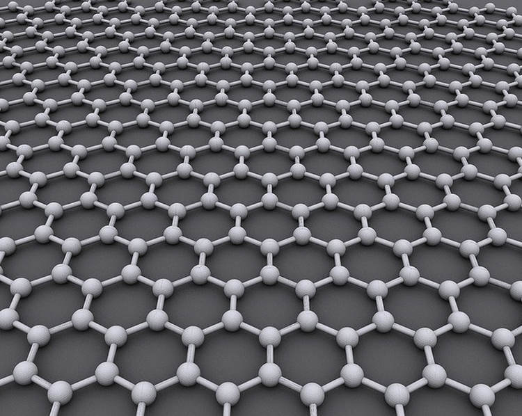 Graphene can repair itself