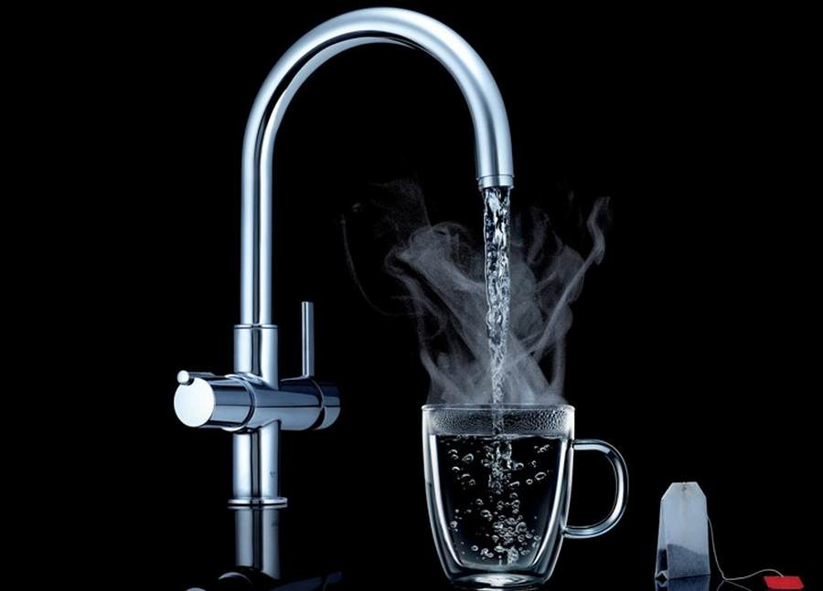 Grohe Red – boiling hot water faucet   wordlessTech