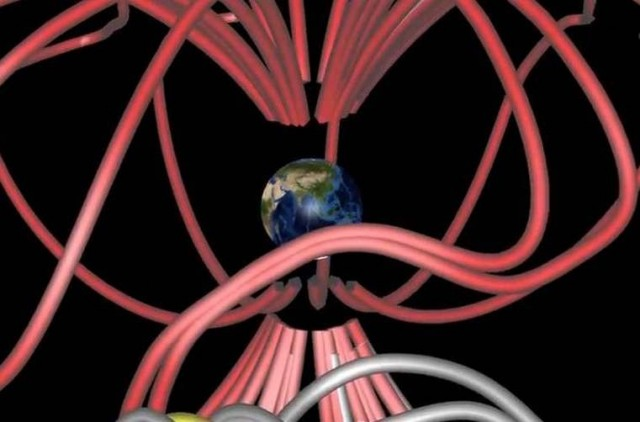 Hidden Magnetic Portals Around Earth by Magnetospheric Multiscale