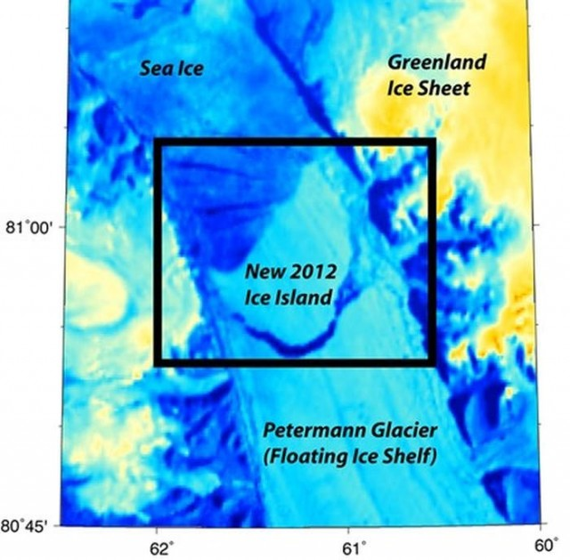 Iceberg twice Manhattan's size breaks off Greenland glacier