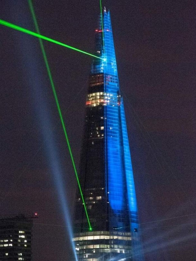Inauguration of the Shard