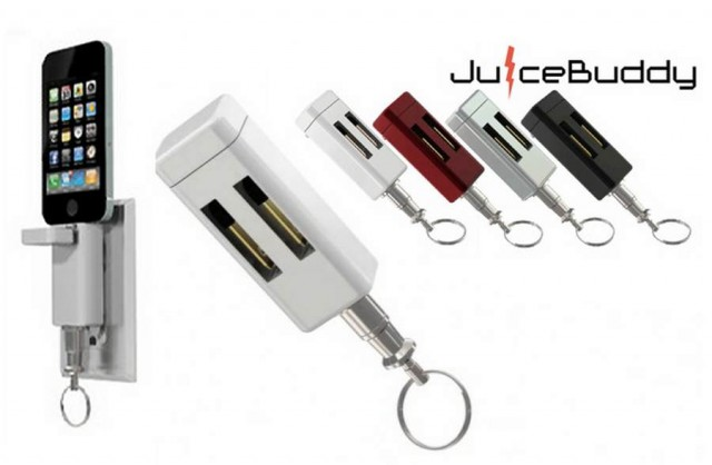 JuiceBuddy- smallest iPhone charger