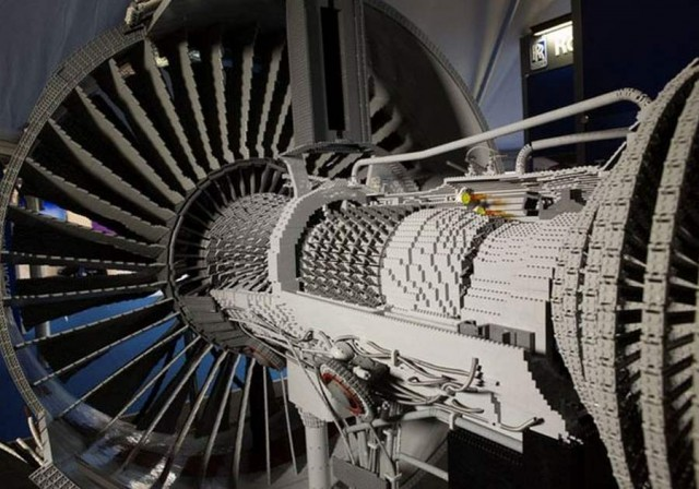 Lego Rolls-Royce Engine
