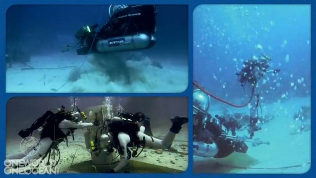 NASA Trains Underwater at Aquarius (5)