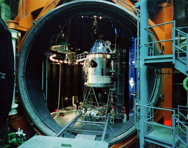 NASA's Space Environment Simulation Lab