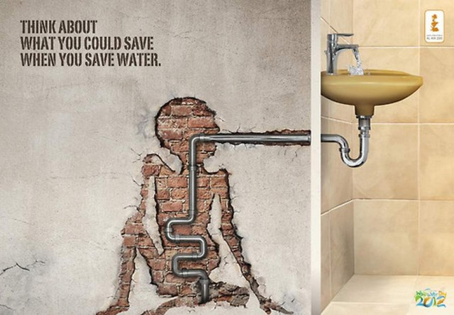 Save Water campain
