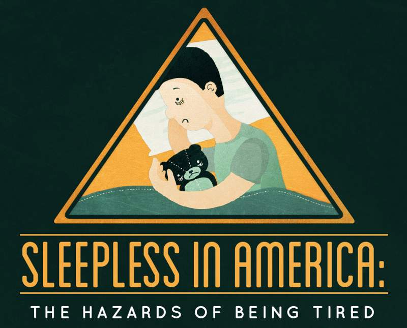 Sleepless in America- the Hazards of being tired