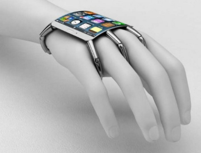 Spider-like iPhone 5 concept
