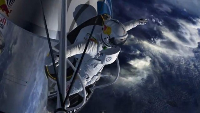 Supersonic Freefall by Felix Baumgartner