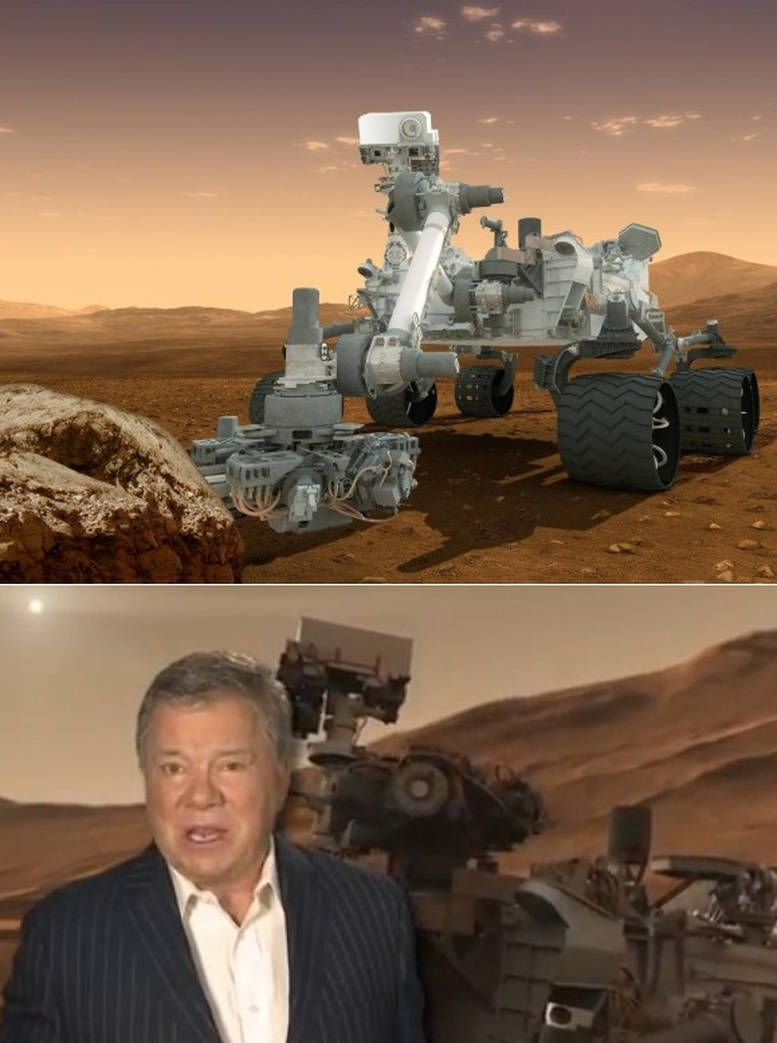 The Grand Entrance on Mars by William Shatner