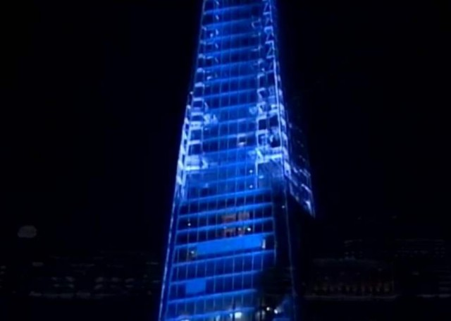 The Shard in London now complete (2)